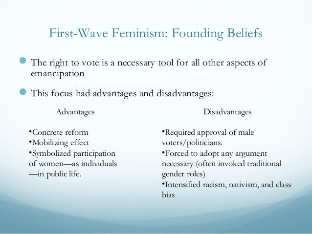 advantages and disadvantages of equality Define disadvantage: loss or damage especially to reputation, credit there are advantages and disadvantages to the new system recent examples of disadvantage from the web feminism 'the political, economic, and social equality of the sexes.