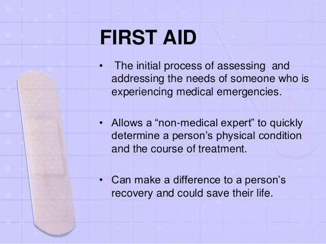 First aid Slide 2