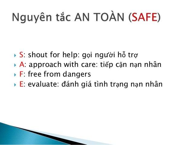 First aid - Sơ cấp cứu ban đầu Slide 3
