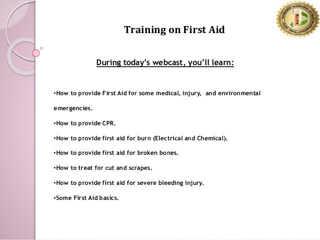reaction paper first aid training Summary - reaction papers summary  in a reaction paper,  check for length if you did not follow the first step,.