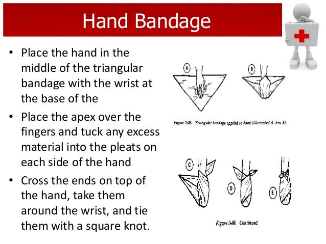 how to tie a triangular bandage