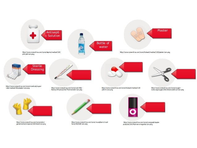 First Aid Kit Tools