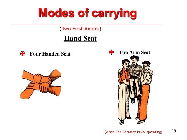 First Aid Lesson Carrying