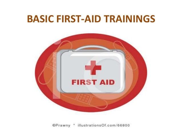BASIC FIRST-AID TRAININGS