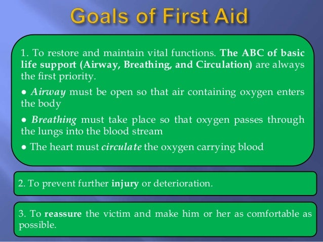 short essay on first aid