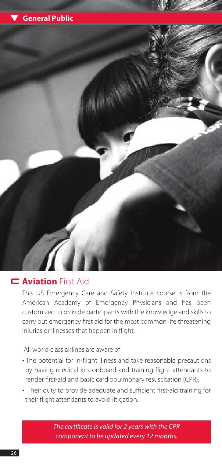 First Aid Training Booklet