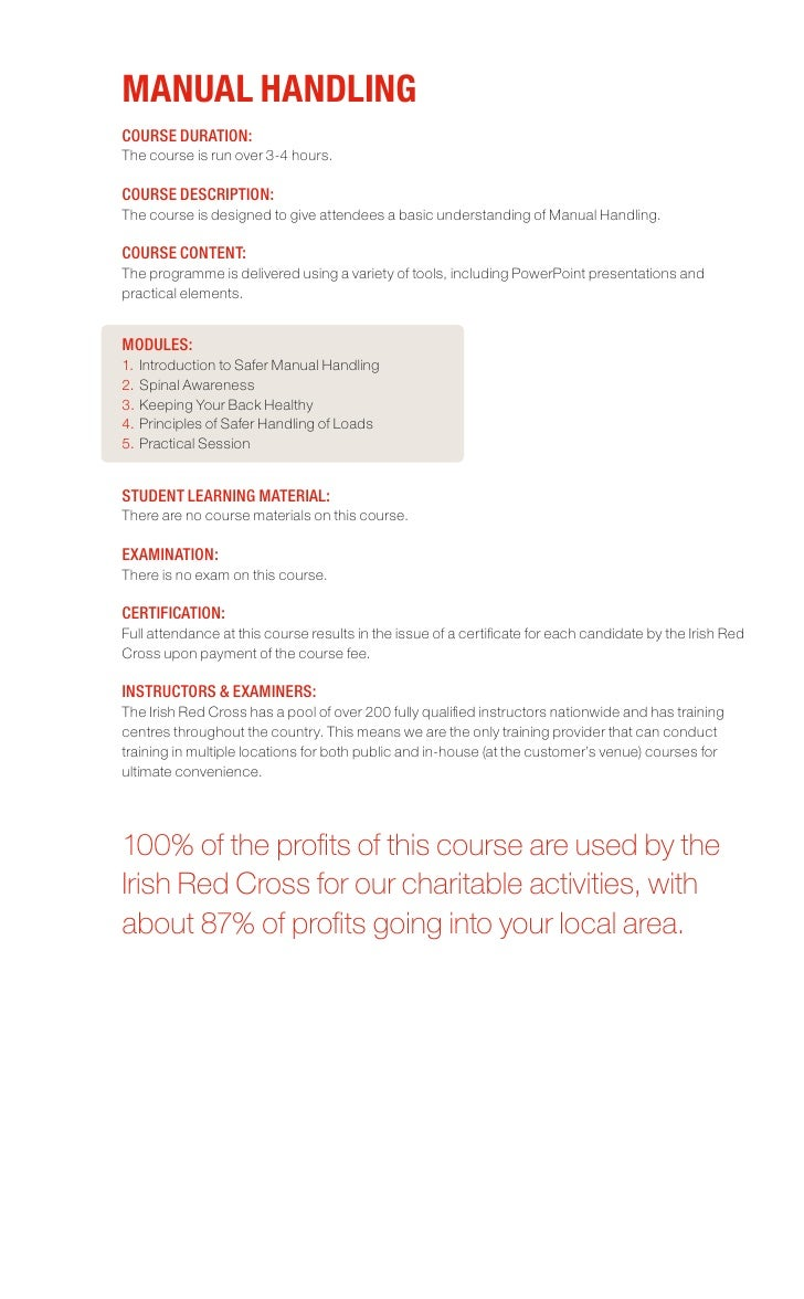 First Aid Training Brochure – First Aid Certificate Template
