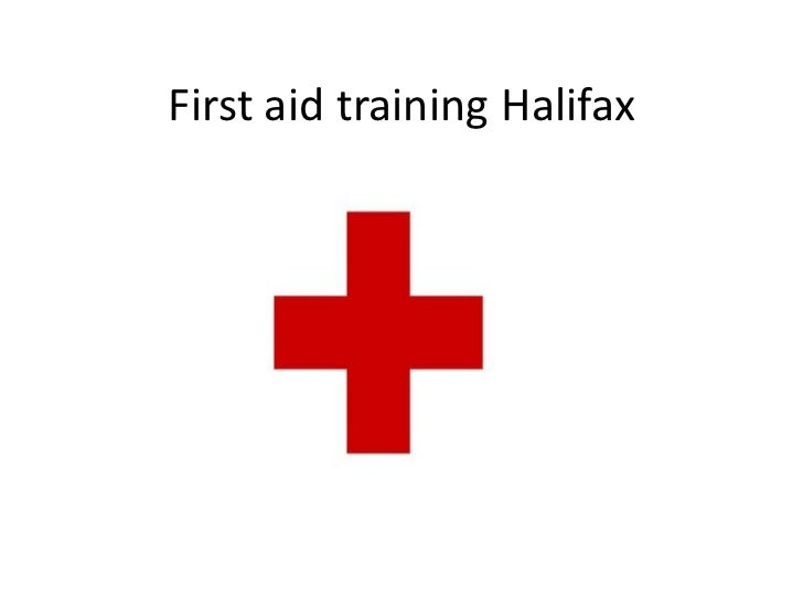 First aid training Halifax