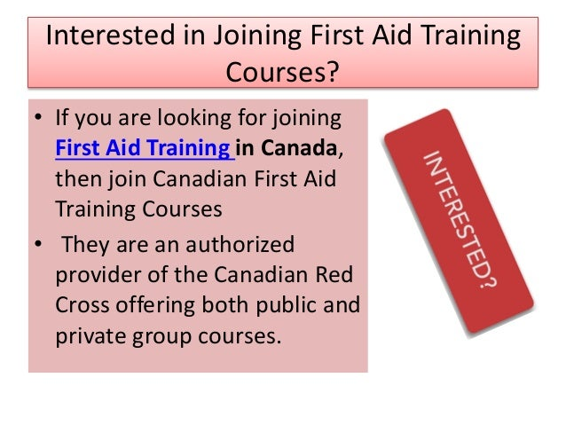 First Aid Training In Toronto