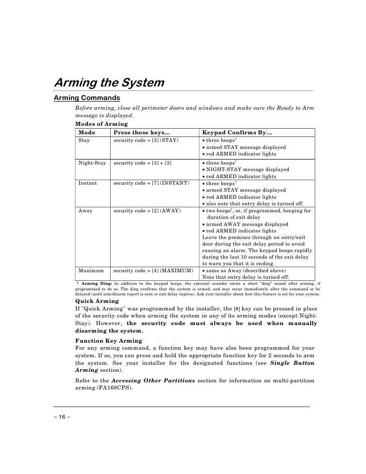 first alert security system manual rh slideshare net first alert professional fa260 manual first alert professional alarm manual