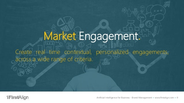 Artificial Intelligence for Business - Brand Management ~ www.firstalign.com ~ 9 Market Engagement. Create real time conte...