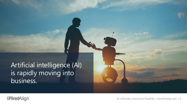 AI in Business - Impact and Possibility Slide 2