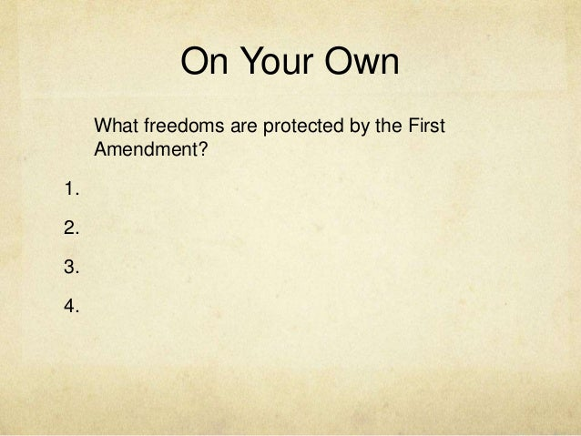 censorship and the first amendment the The american citizen's right to free speechare we protected from censorship under the first amendment in other words do individuals or groups have the right or the power to examine material.