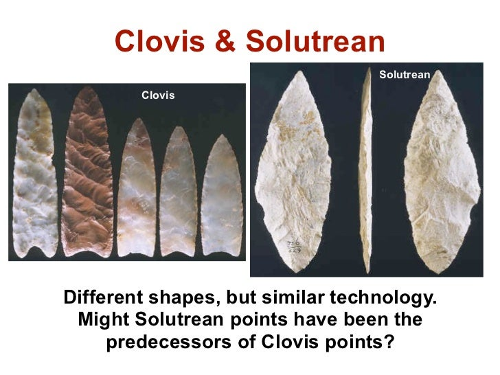 """solutrean hypothesis The once-dominant """"clovis first"""" hypothesis has been overturned in recent years  by  """"the solutrean hypothesis is very divisive,"""" hemmings says only a few."""
