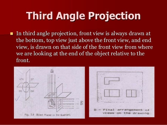 third angle projection Join gabriel corbett for an in-depth discussion in this video, choosing the correct projection angle: first angle vs third angle, part of solidworks 2012 essential.