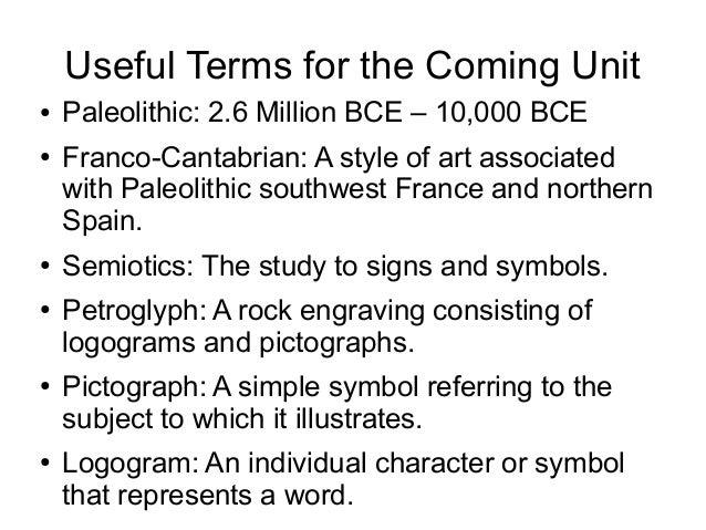 Prehistoric Art (Paleolithic, Mesolithic, Neolithic) Slide 3