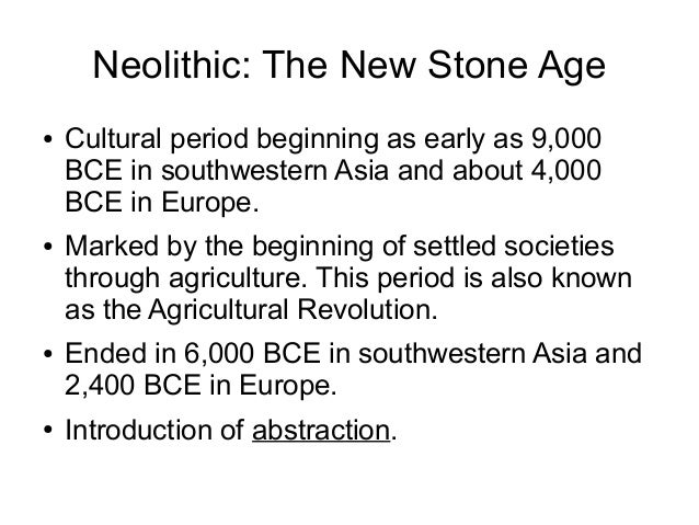 paleolithic neolithic and mesolithic art essay The new topic difference between paleolithic and neolithic art is one of the most popular assignments among new topic difference between paleolithic and neolithic art is quite a rare and popular topic for paleolithic, mesolithic boundary when europe was repopulated at the end of.