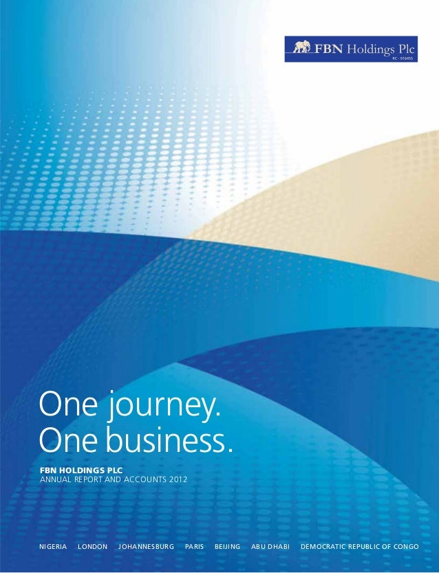 First Bank Annual Report 2012