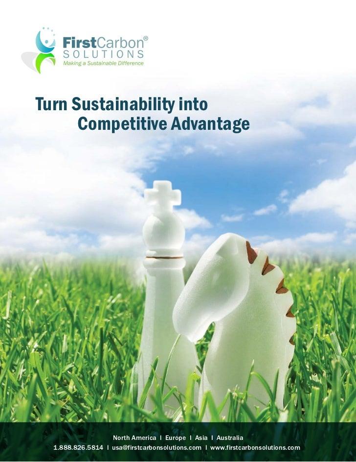 Turn Sustainability into      Competitive Advantage                   North America l Europe I Asia I Australia  1.888.826...