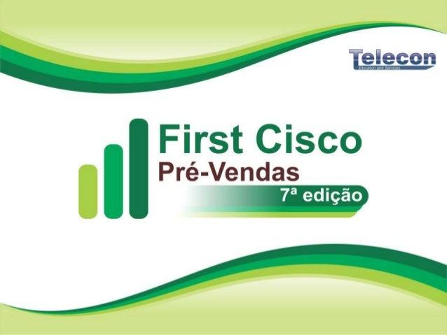 © 2010 Cisco and/or its affiliates. All rights reserved. 2 • A Telecon possui 30 anos de mercado no seguimento de educação...
