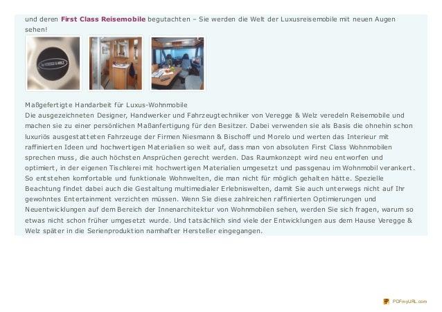 Exklusiv Reisen - First Class Reisemobile Slide 2