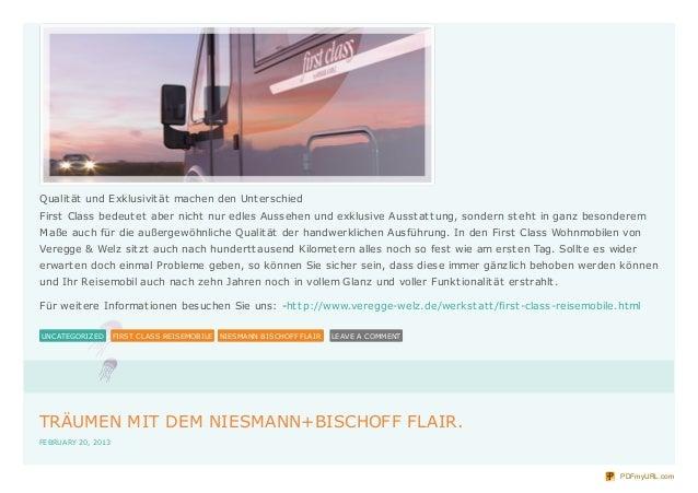 Exklusiv Reisen - First Class Reisemobile Slide 3
