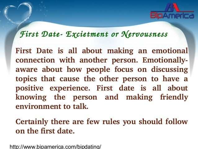 What to talk on your first date