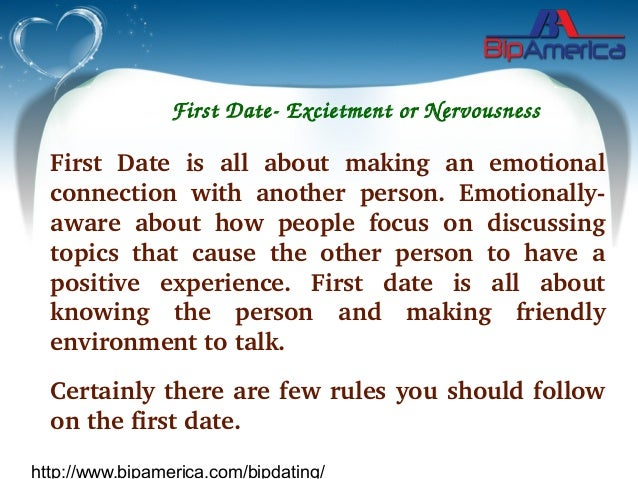 Do First On Things Date To Best