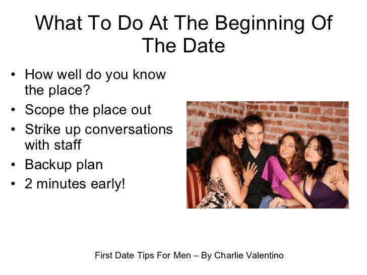 first date tips