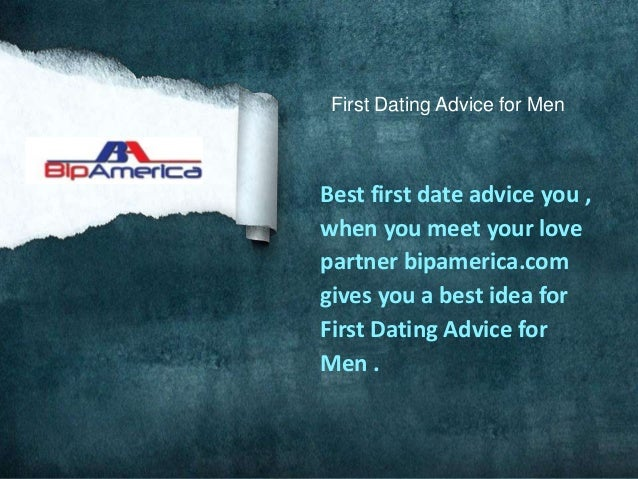 best first date dating advice