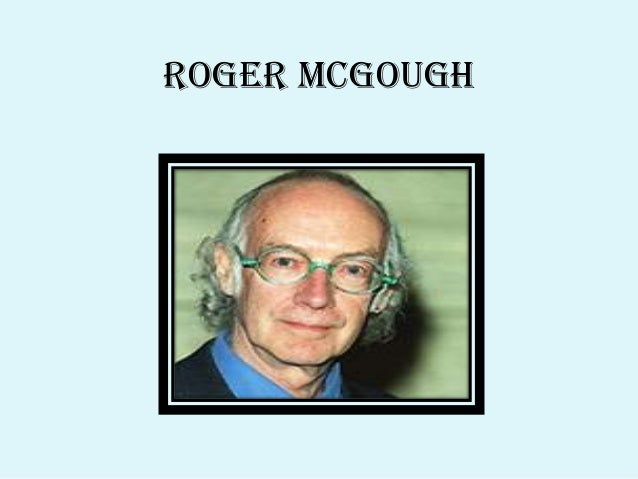 identification by roger mcgough Curriculum overview for drama - year 8 when what the identification by roger mcgough learn about the poet roger mcgough.
