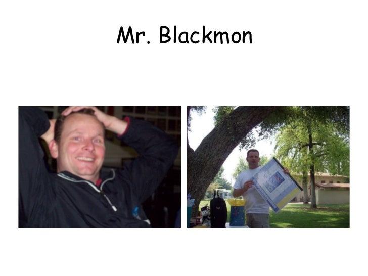 Mr. Blackmon