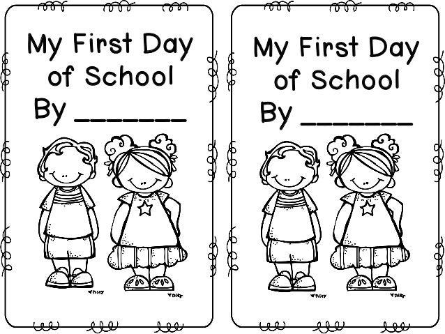 First Day Of School Mini Book Freebie Hari Pertama Sekolah