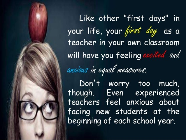 First day of school tips pptx
