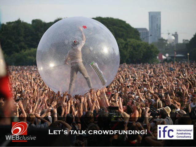Let's talk crowdfunding!