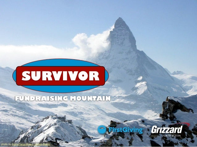 SURVIVOR FUNDRAISING MOUNTAIN  photo by AlphaTangoBravo / Adam Baker