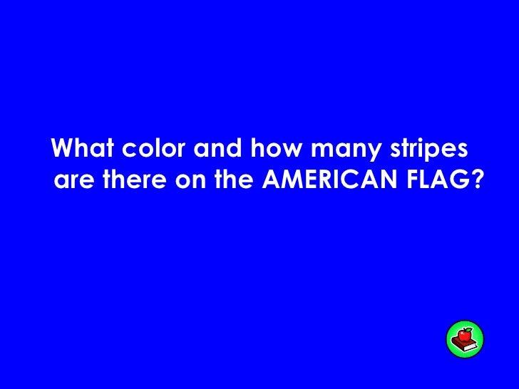 First Grade American Symbols