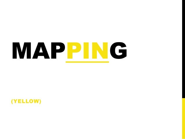 MAPPING(YELLOW)