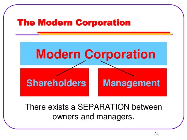 theory of the firm managerial behavior The powerpoint ppt presentation: theory of the firm: managerial behavior, agency costs and ownership structure is the property of its rightful owner.