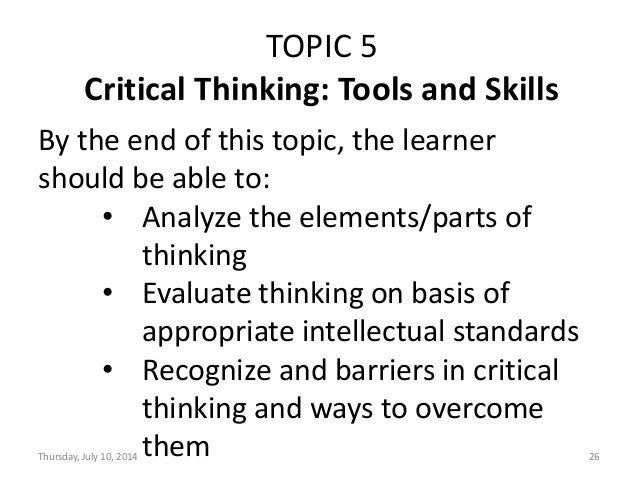 As Critical Thinking Argument Elements - image 10