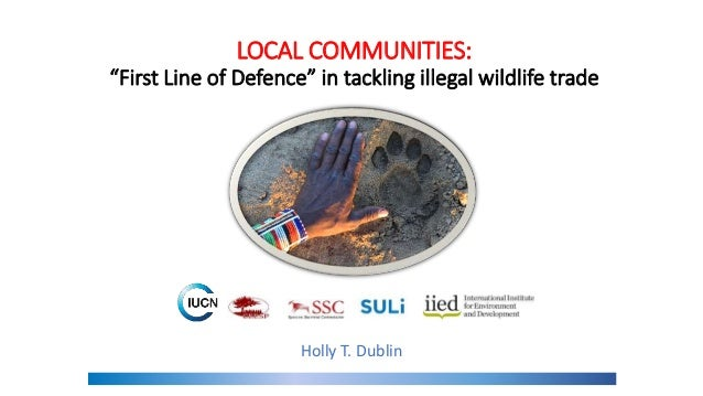 """LOCAL COMMUNITIES: """"First Line of Defence"""" in tackling illegal wildlife trade Photo credit: Lion Guardians Holly T. Dublin"""