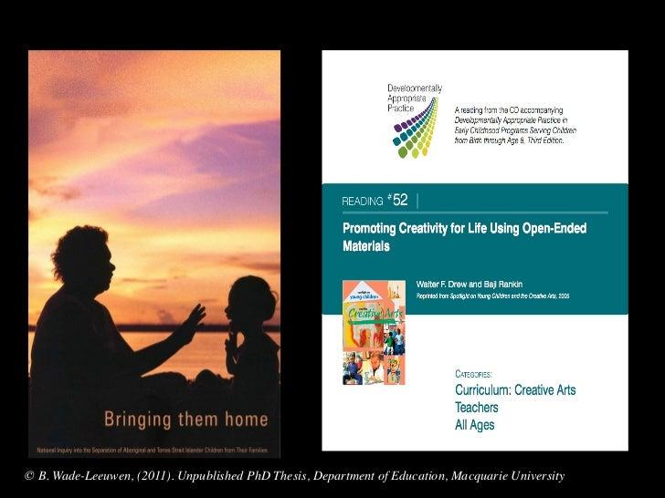 dissertation work on education