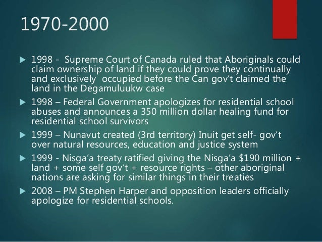 nisgaa perspective of the nisgaa treaty essay 5 introduction this essay will examine how various components of the nisga'a  final agreement (the agreement) have changed and evolved.