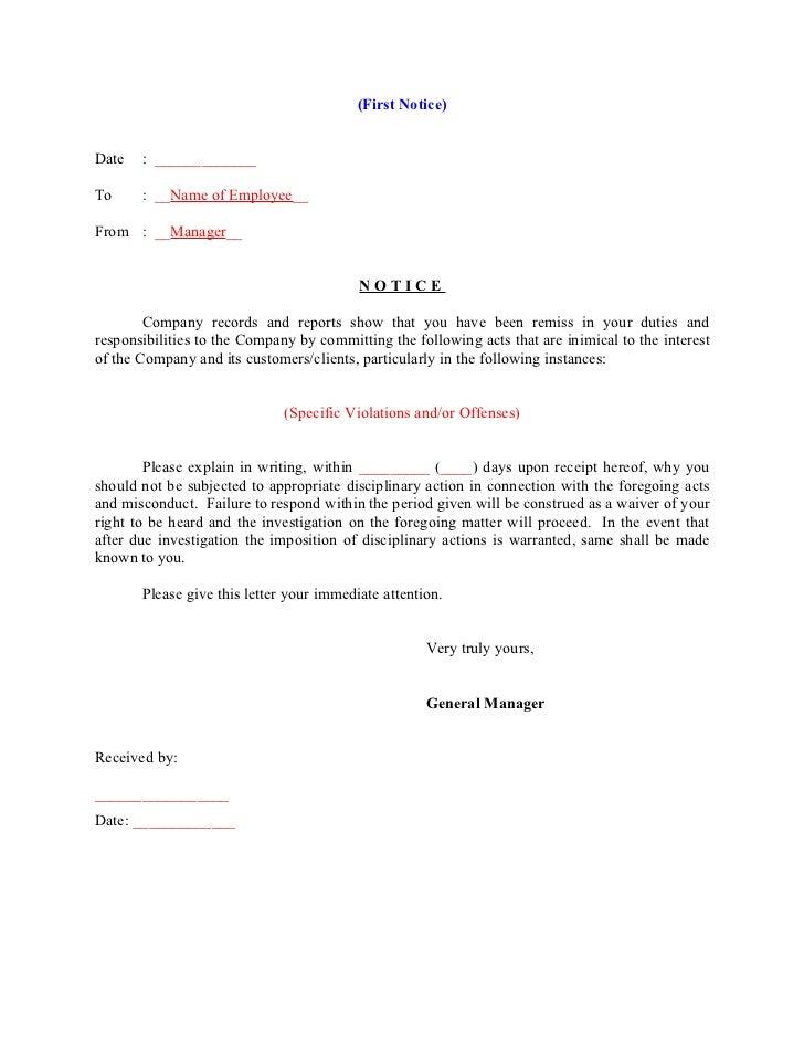 Notice to explain memo acurnamedia notice to explain spiritdancerdesigns Choice Image