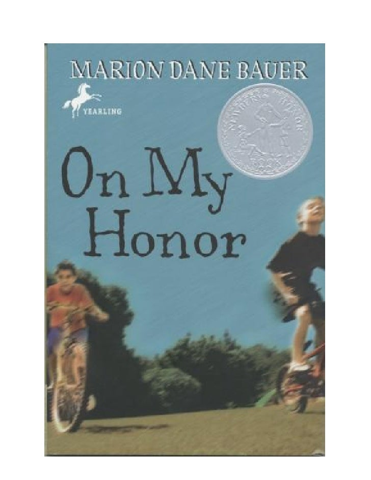 On My HonorMarion Dane Bauer