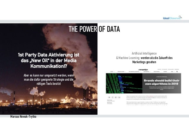 First Party Data Activation for Brand AND Performance Marketing Slide 2