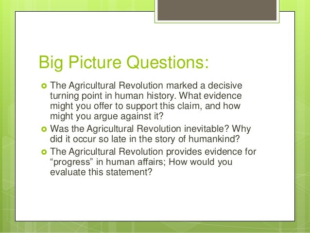 AP World History, Chapter 1: First peoples, first farmers