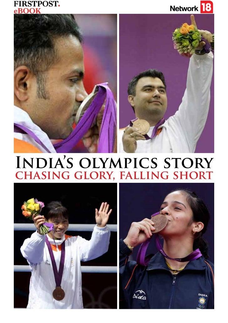 India's olympics storychasing glory, falling short
