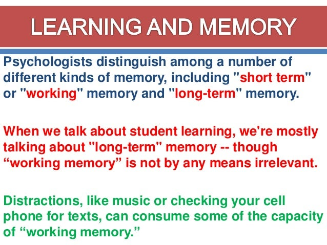 long term memory and critical thinking Chapter 7: human memory critical thinking lesson 7a: the kind of encoding you perform when you form a long-term memory of a personal experience.