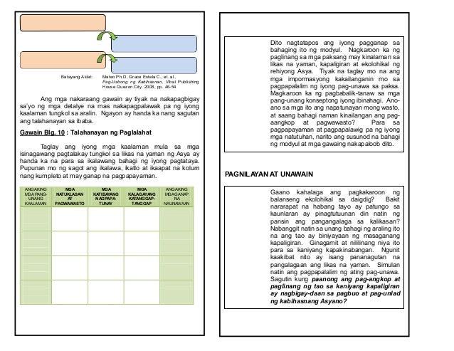 araling panlipunan essay Araling panlipunan g10-ap g9-ap g8-ap g7-ap edukasyon sa pagpapakatao filipino technology and livelihood education music, arts, pe & health shs stem.
